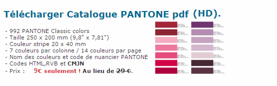 nuancier pantone resine de protection pour peinture. Black Bedroom Furniture Sets. Home Design Ideas